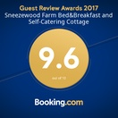 Booking.com Guest Review Award 2017